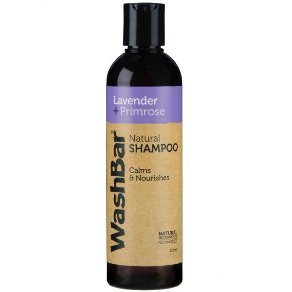 WashBar Natural Shampoo - Lavender + Pri...